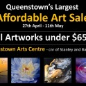 Queenstown Arts Centre - Affordable Art Sale.