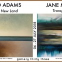 Gallery 33 - 'Old Light, New Land' & 'Transgressions'.