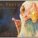 Hullabaloo Art Space - 'Hen Party', by Lizzie Carruthers.