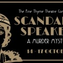 Fine Thyme Theatre Company - Scandal at the Speakeasy.