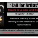 Queenstown Arts Centre - Call for Artists - Recycle to Upcycle Exhibition.