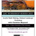 Queenstown Arts Centre - Acrylic Mark Making Workshop