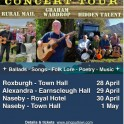 Bards, Ballads and Bulldust Festival & Fund Raising Concert Tour