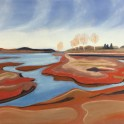 Karitane Mud Flats - Pastel on paper (60 x 45)